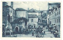 Cpa Croatie / Yougoslavie : Dubrovnik - Raguse - Place Gundulié - Croatie