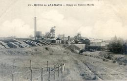 Tarn - Mines De Carmaux - Siège De Sainte Marie - Carmaux