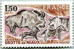 N° Yvert & Tellier 2043 - Timbre De France (1979) - MNH - Grottes De Niaux - Nuevos