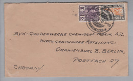 Thailand Bangkok P.O. 1937-12-03 Nach Oranienburg DE - Thaïlande