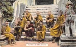 BURMA / MYANMAR - Burmese Buddist Priests - Myanmar (Burma)