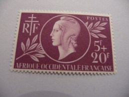 TIMBRE   AOF   N  1   COTE  5,50  EUROS   NEUF  LUXE** - Unused Stamps