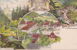 Bad Teinach, Bad Hotel, Von D. Station Zum Bad. - Bad Teinach