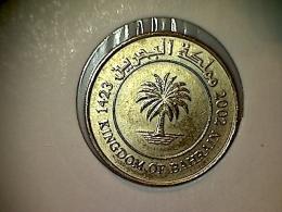 Bahrein 10 Fils 2002 - Bahrain