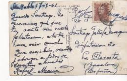 3092   Postal San  Paulo, Brasil  1961 , Firma Del Cartero - Brasil