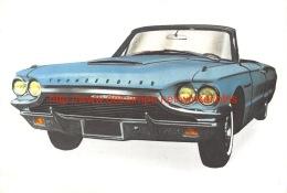 Ford Thunderbird - Cars