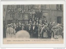 ORLEANS LES FETES DE JEANNE D ARC LA MUNICIPALITE ET LES PRELATS CPA BON ETAT - Orleans