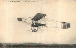 AEROPLANE FARMAN - ....-1914: Précurseurs