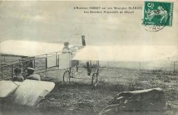 L'AVIATEUR GIBERT SUR SON MONOPLAN BLERIOT DERNIERS PREPARATIFS DU DEPART - ....-1914: Precursores