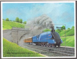 BHOUTAN  - 1988 -  Locomotive Mallard  - Yvert  BF 150  Neuf ** - Bhutan