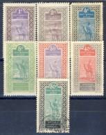 Haut Senegal-Niger 1914 - 17 Serie N. 18-34 Lotto Di 7 Valori Misti Catalogo € 11,30 - Alto Senegal E Niger (1904-1921)