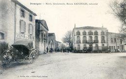 Tarn - Dourgne - Mairie, Gendarmerie, Maison Raucoules, Industriel - Dourgne