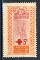 Haut Senegal-Niger 1915 N. 35 C. 10+5 Pro Croce Rossa MNH Catalogo € 3