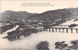 CAMPAGNE D'ORIENT 1914-18 ( MILITARIA ) SERBIE Serbia Serbien - Village SERBE Sur Les Bords Du Vardar - CPA - - Serbie