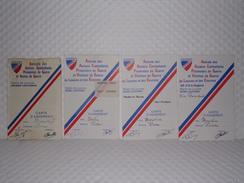 Cartes De L'AACP - Amical Anciens Combattants Prisonniers Guerre Et Veuves De Guerre - Documents