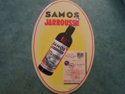 Glaçoide SAMOS JARROUSSE Signé Decock Dans Son Emballage D´origine - Enseignes