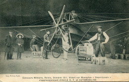 AVIATION(REIMS) PUBLICITE HUILE - 1914-1918: 1ère Guerre