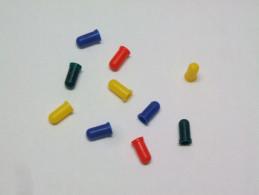 10 CAPUCHONS En SILICONE Pour Mini Ampoules 3mm (vous Pouvez Panacher Les Couleurs) - Elektrische Artikels