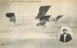 CHAMPEL SUR BIPLAN VOISIN - ....-1914: Précurseurs