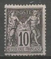 France - F1/196 - Type Sage - N°103 (*) - 1898-1900 Sage (Type III)