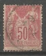 France - F1/198 - Type Sage - N°104 Obl. - 1898-1900 Sage (Type III)