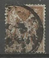 France - F1/199 - Type Sage - N°105 Obl. - 1898-1900 Sage (Type III)