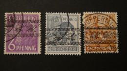 Germany - American And British Occupation Zones - 1948 - Mi:37I,40I,44I O - Look Scan - Zona Anglo-Americana