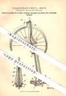 Original Patent - William Edward Roberts In Bristol , Gloucester , 1891 , Bicycle Articulated Fork , Fahrrad !!! - Motor Bikes