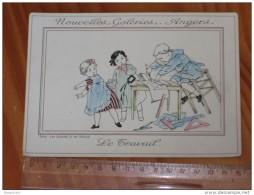 Refboite 97 *   Nouvelles Galeries  Angers  Le Travail    Serie Les Qualités Et Les Defauts  ( 16 / 11 Cm ) - Sammelkarten, Lernkarten