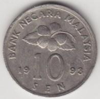 @Y@   Maleisië     10  Sen   1993     (4126) - Malaysie