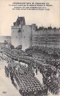 EVENEMENTS - Funérailles De SM EDOUARD VII ( Funeral Of King EDWARD THE VII Th ) Cercueil Conduit Par Les Marins CPA - Beerdigungen