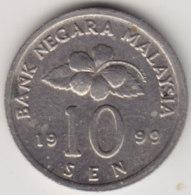 @Y@   Maleisië     10  Sen   1999     (4137) - Malaysie
