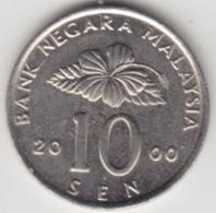 @Y@   Maleisië     10  Sen   2000     (4139) - Malasia
