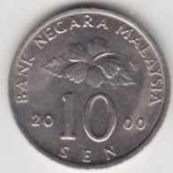 @Y@   Maleisië     10  Sen   2000     (4140) - Maleisië