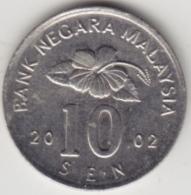 @Y@   Maleisië     10  Sen   2002     (4144) - Maleisië