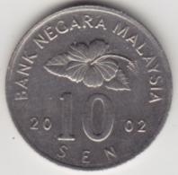 @Y@   Maleisië     10  Sen   2002     (4145) - Maleisië