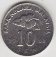 @Y@   Maleisië     10  Sen   2002     (4146) - Malaysie