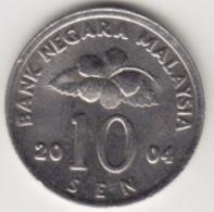 @Y@   Maleisië     10  Sen   2004     (4147) - Maleisië