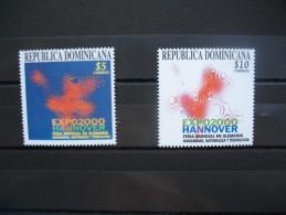 République Dominicaine  Exposition Hanovre 2000 N° 1432 Et 1433 - Dominicaine (République)