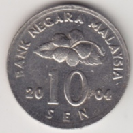 @Y@   Maleisië     10  Sen   2004     (4148) - Maleisië