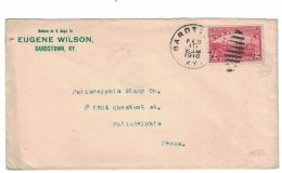 Sc#372 2-cent Hudson-Fulton Celebration Single Stamp On 1910 Cover - United States