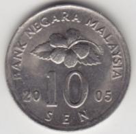 @Y@   Maleisië     10  Sen   2005     (4152) - Malaysie