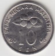 @Y@   Maleisië     10  Sen   2005     (4153) - Malaysie
