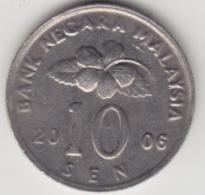 @Y@   Maleisië     10  Sen   2006     (4155) - Malaysie
