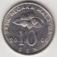 @Y@   Maleisië     10  Sen   2006     (4156) - Maleisië
