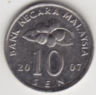 @Y@   Maleisië     10  Sen   2007     (4158) - Malaysia
