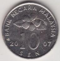 @Y@   Maleisië     10  Sen   2007     (4159) - Malaysie