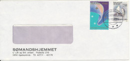 Greenland Cover Egedesminde 11-12-1988 Also With A Christmas Seal - Greenland