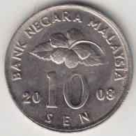 @Y@   Maleisië     10  Sen   2008     (4160) - Maleisië