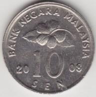 @Y@   Maleisië     10  Sen   2008     (4161) - Maleisië